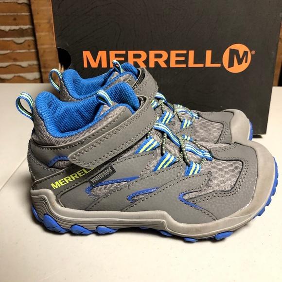 73d01736500 Merrell BOYS Chameleon 7 Access Hiking Shoe